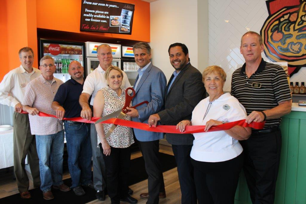 Lou Malnatis ribbon cutting 06142017
