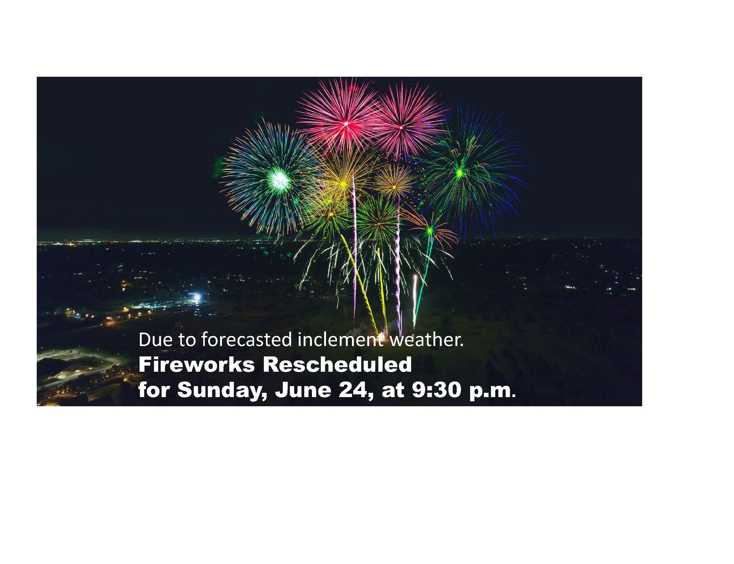 Rescheduled Fireworks Captioned 2