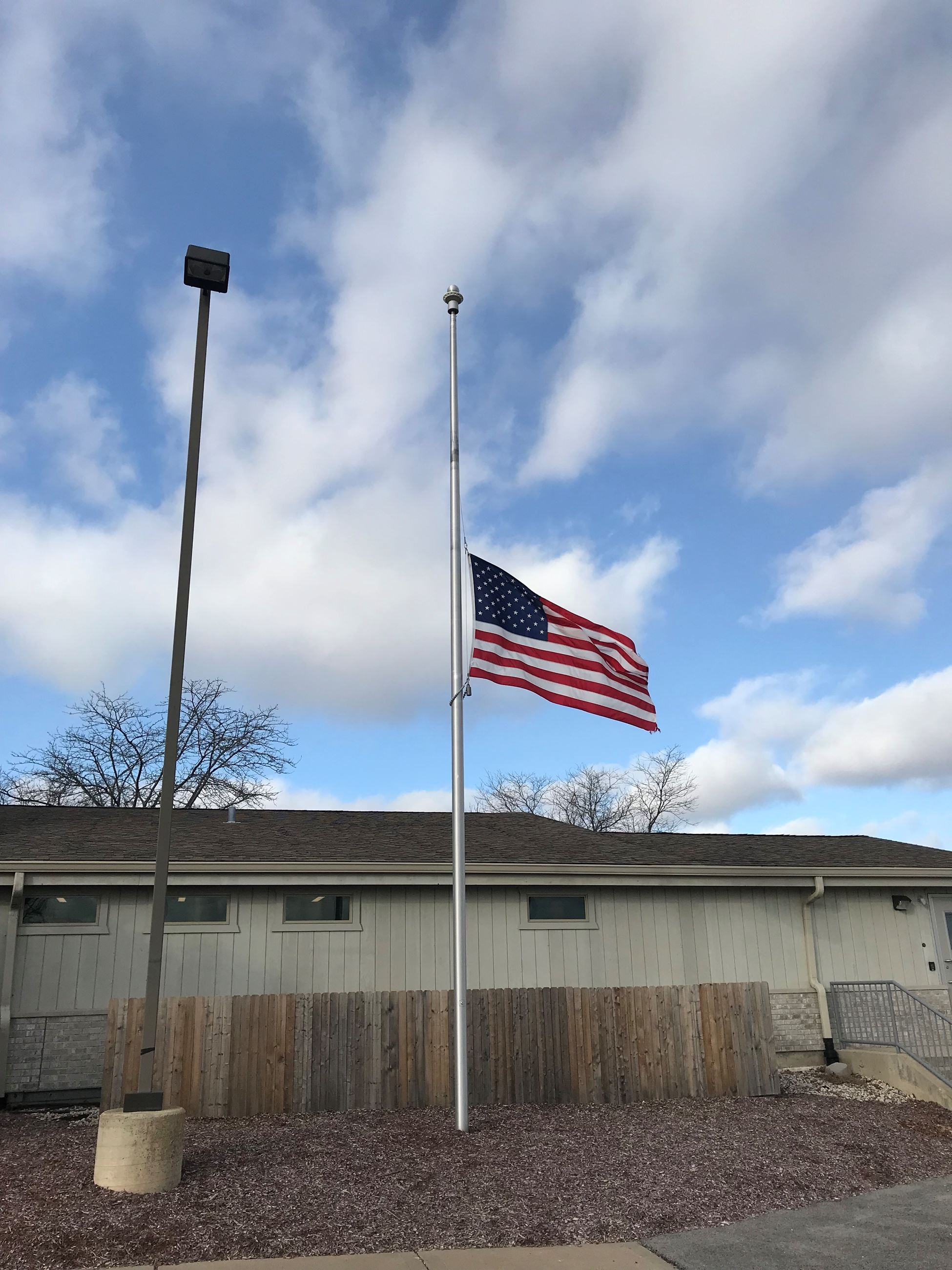 Flag at Half Staff 02-08-19