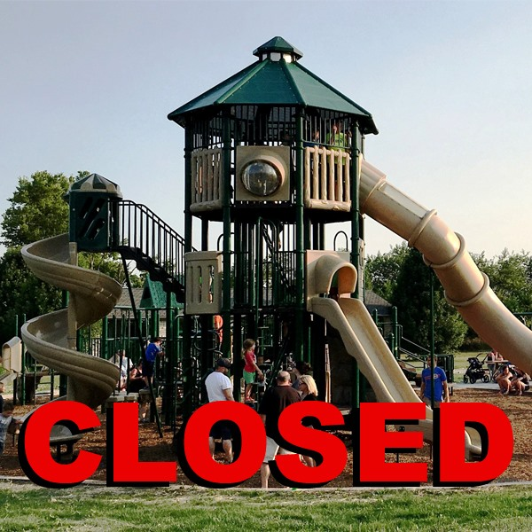 Park Closed Graphic