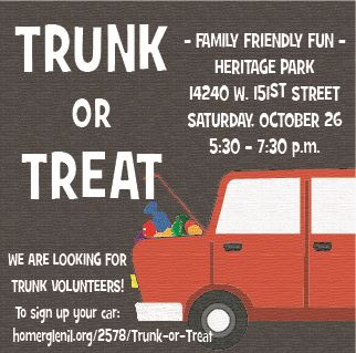 Trunk or Treat Ad 2019