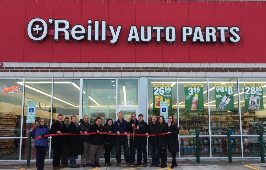 19-0213 OReilly Auto Parts ribbon cutting