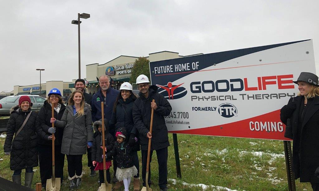 GoodLife Physical Therapy 10-30-19 Groundbreaking