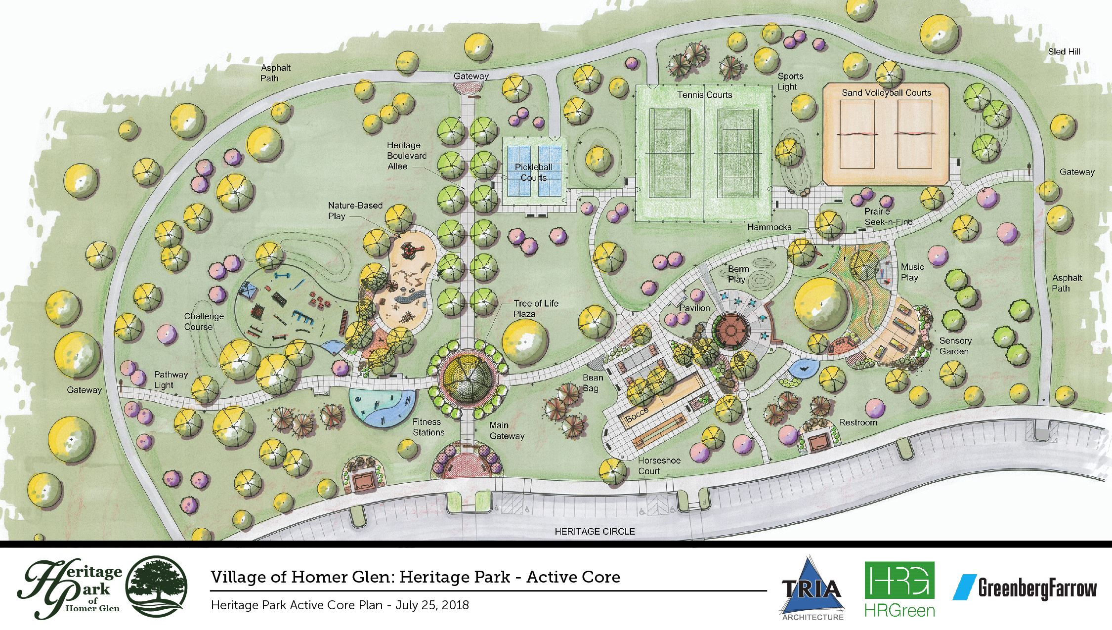 Village of Homer Glen_Heritage Park Master Plan_Tria Architecture_Color-01