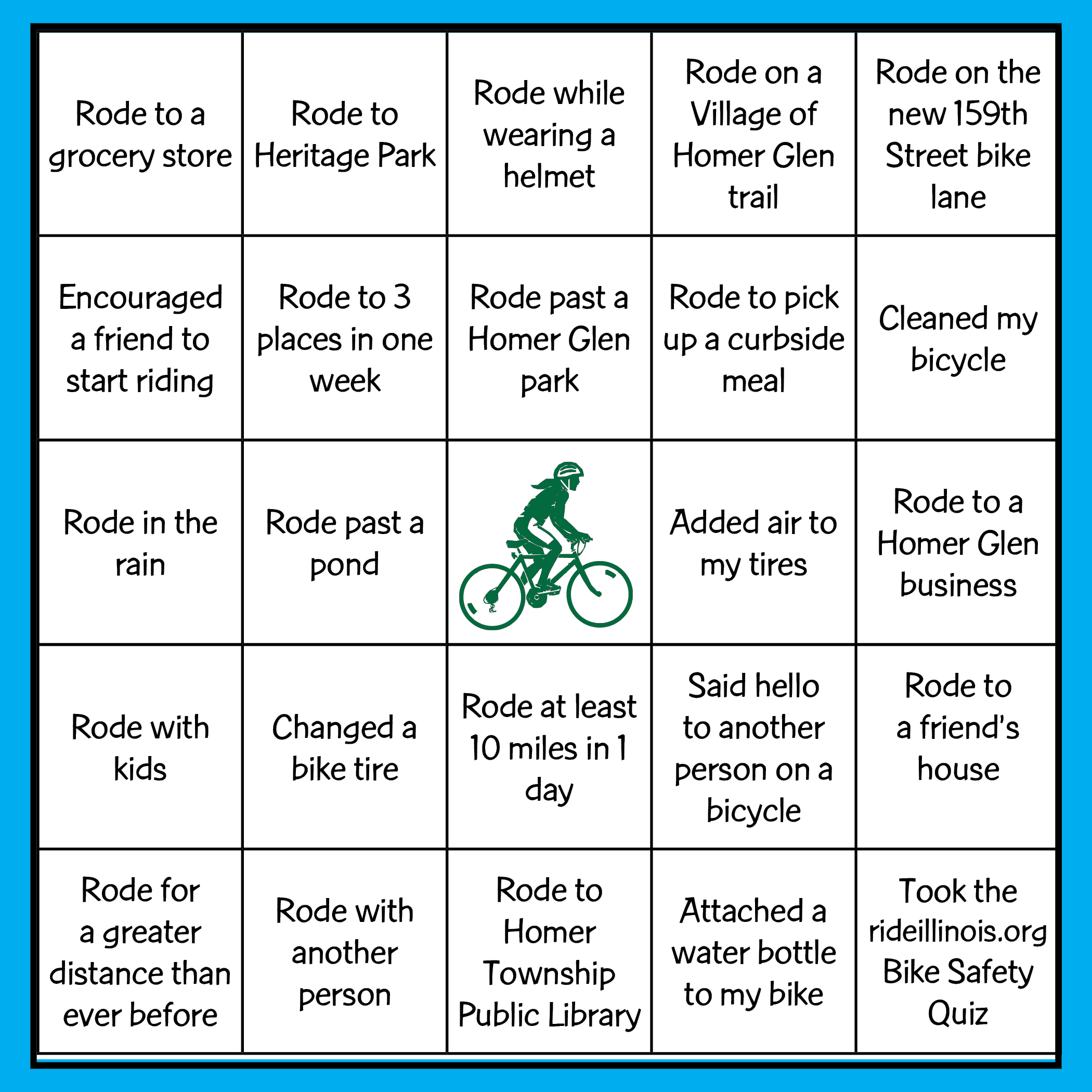 Bike Bingo_card only